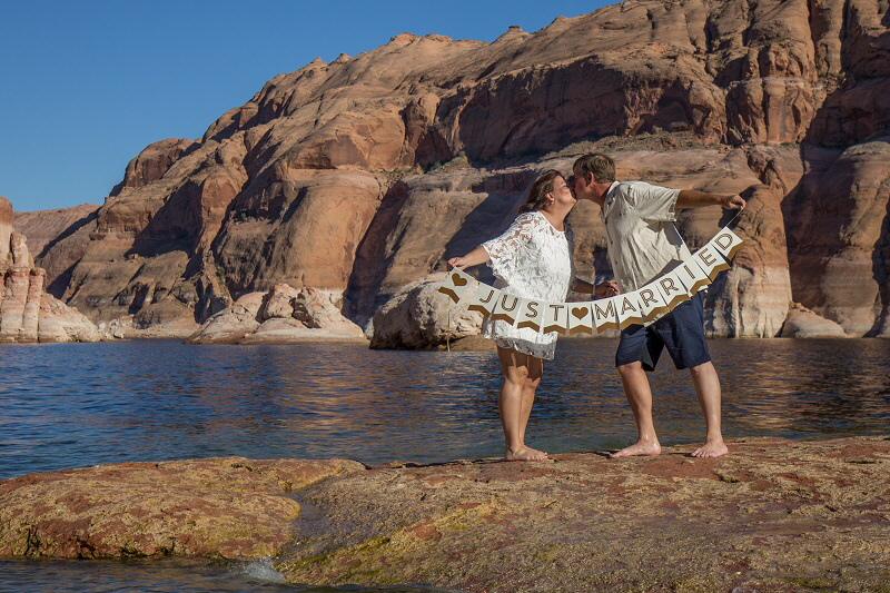 Lake Powell wedding 100